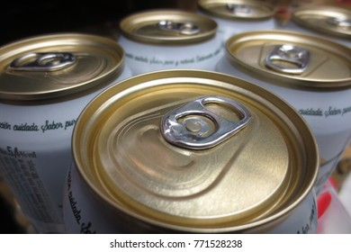 Soda and beer cans