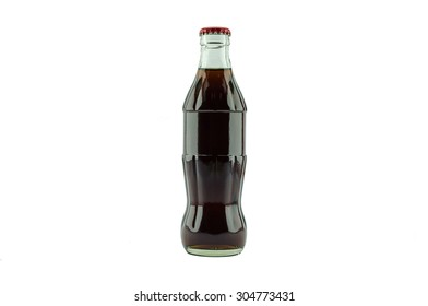 soda bottle Isolated on white background.