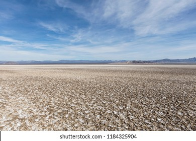 Soda dry lake bed in the Mojave desert near Baker and Zzyzx California.