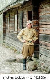 Sodat portrait, war, military in uniform, military service