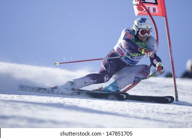 SOELDEN AUSTRIA OCT 26, Marco Buechel LIE  competing in the mens giant slalom race at the Rettenbach Glacier Soelden Austria, the opening race of the 2008/09 Audi FIS Alpine Ski World Cup
