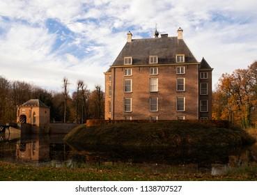 Soelen castle in the village Zoelen in the Dutch region Betuwe