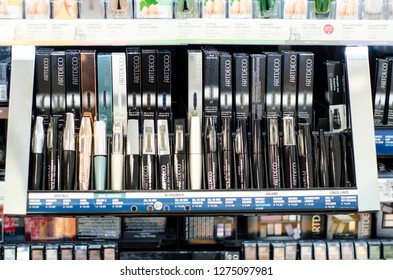 Soest, Germany - January 3, 2019: ARTDECO cosmetic for sale in the shop.