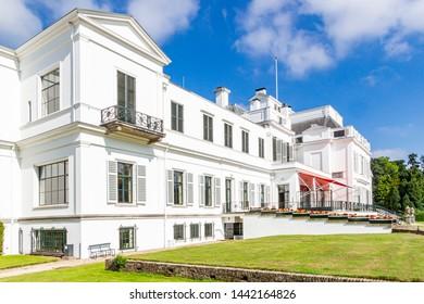 Soestdijk / Netherlands - 06-10-2018: The back of Palace Soestdijk, Netherlands
