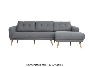sofa 3 seater with isolated white background