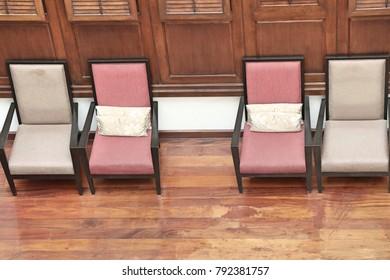 Sofa chair with cushion