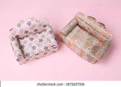 Sofa Chair Origami Paper Craft