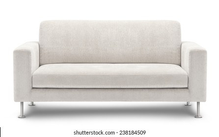 Terrific White Couch Isolated Stock Photos Images Photography Gamerscity Chair Design For Home Gamerscityorg