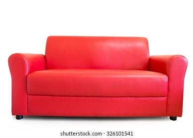 sofa furniture isolated on white background with clipping path