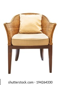 sofa furniture weave bamboo chair