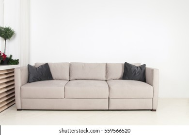 sofa in interior