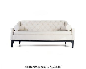 Sofa isolated on white