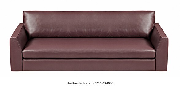 Sofa isolated on a white background