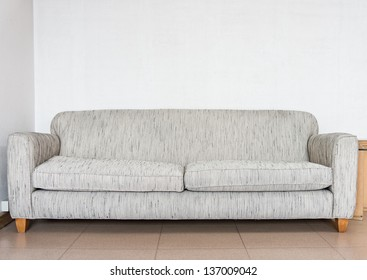 Sofa in lounge for relaxation