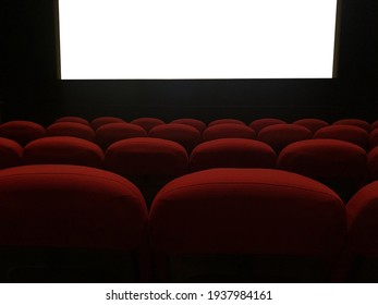 Sofa of the movie theater