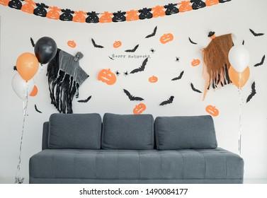 Halloween Wall Decor Images Stock Photos Vectors