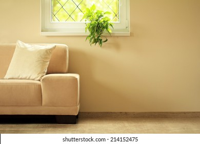 sofa under window