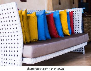 sofa,decorative pillow natural Fabric