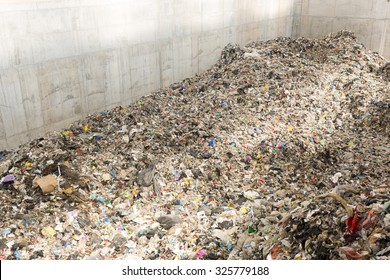 Sofia, Bulgaria - 22 September 2015: Waste-to-energy or energy-from-waste is the process of generating energy in the form of electricity or heat from the primary treatment of waste. Inside.