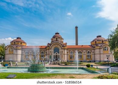 SOFIA, BULGARIA - SEP 1: Sofia History Museum in Sofia, Bulgaria on September 1, 2016. Sofia is the capital and largest city of Bulgaria.