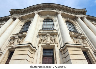 Sofia, Bulgaria - University of Sofia main building.