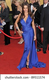 Sofia Vergara at the 17th Annual Screen Actors Guild Awards at the Shrine Auditorium. January 30, 2011  Los Angeles, CA Picture: Paul Smith / Featureflash