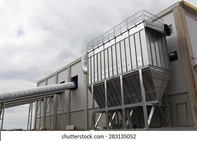 Sofia's second waste plant (organic waste plant, waste to energy plant, composting, incineration, landfill, recycling, windrow composting) from the outside.