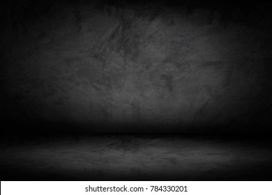 soft blur dark and gray abstract  cement wall and studio room gradient background