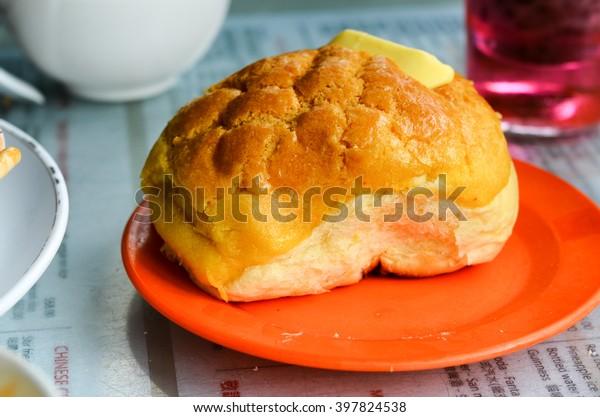 soft butter bun