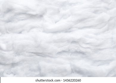 Soft clean cotton as background, top view