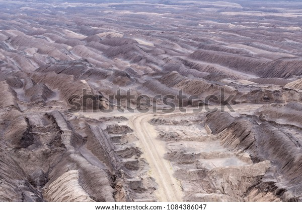 soft coal opencast mining in Lusatia, Germany