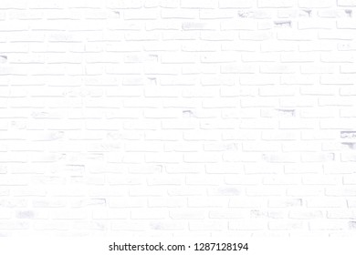 A Soft Color of The Old Brick Wall as Background