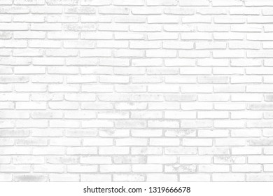 Soft Color Of The Old Brick Wall As Background