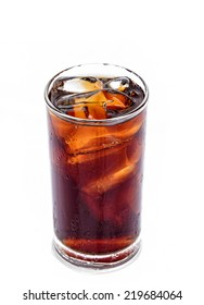 Soft drinks and ice