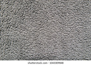 soft fleece surface, texture