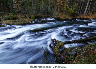 soft flowing mountain stream