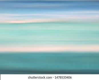 Soft Focus Blur Background Ocean Sunrise Theme