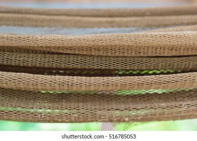 soft focus and blurry Fishing nets / trawl