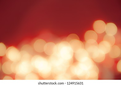 Soft focus red abstract background
