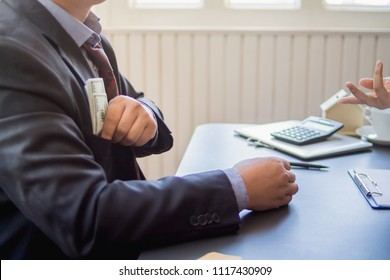 Soft Focus,Bribery of business people with government officials in order to open channels and facilitate investment and reduce competition among more capable business people. Bribery with money