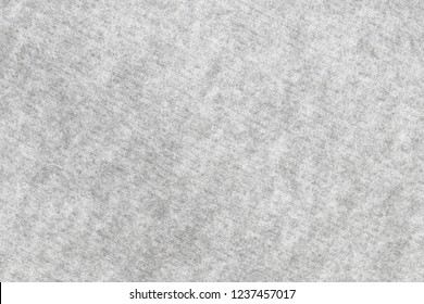 Soft grey fleece fabric. Surface of gray fabric texture abstract background. High resolution photo.