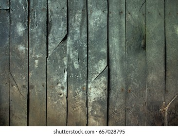 The soft image of old wood planks texture background.
