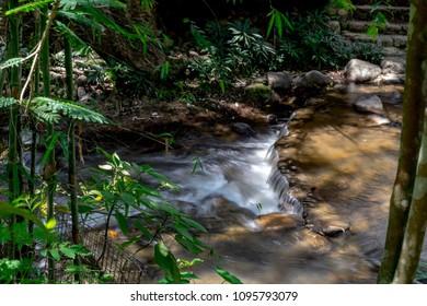 Soft nature river