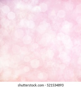 Soft pastel blurred bokeh background, abstract card texture