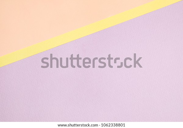 soft pastel color paper background.