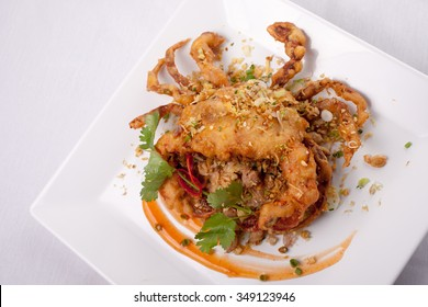 Soft Shell Crab with Garlic