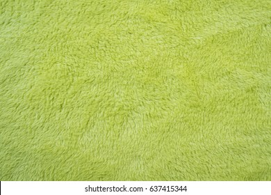 soft smooth light green plush fleece