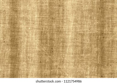 Soft striped light and dark obsolete canvas jute texture background, grunge rural vintage copyspace