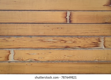 Soft textured wooden planks horizontal background