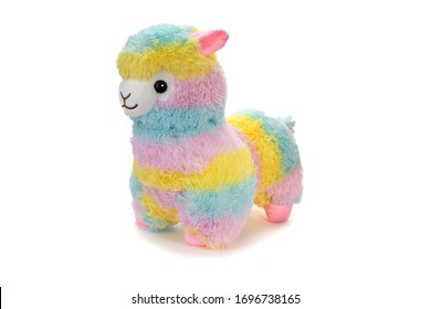 Soft toy  on a white background